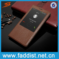 High Quality Luxury Leather Flip Case For Huawei Mate 8 window case