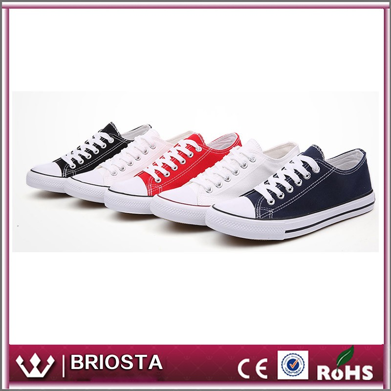 Wholesale Custom Simple Low Top Casual Canvas Sneaker