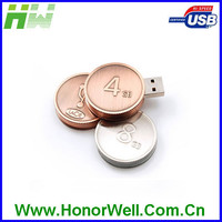 Wholesale Metal Mini USB Pen Drive ,USB 2.0 Flash