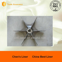 Alloy Steel Casting Fan Blade for Mine Mill