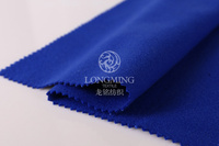 Zhejiang high quality tr brushed fake new color wool fabric wonderful imitation flannel for fashion girl's jacket