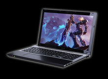 Lastest Metal Case 15.6 inch laptop intel core i7 dual Core 1.9GHz 4GB RAM 500GB HDD With DVD-RW on factory price