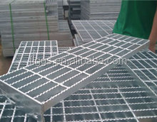 steel grating Stepping board for stairs