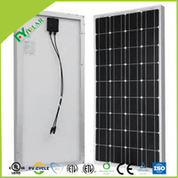 Custom Design Monocrystalline solar panels 80w