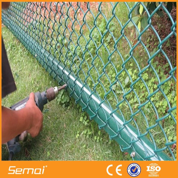 plastic chain link fence in roll,cheap chain link dog kennels