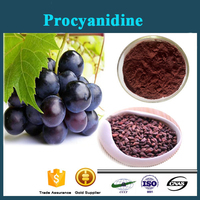 100% Natural extracts Grape Seed Extract 5%, 15%, 25%, 30%, 50% Proanthocyanidins/Anthocyanins/procyanidine