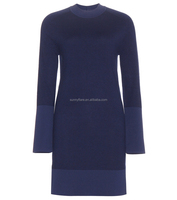 Pullover Winter Warm Cashmere Dress For Women