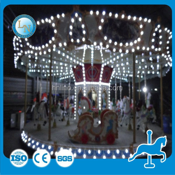 Amusement rides funny electric children toys Carousel Horse Riding machine