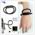 Fashion Genuine Leather Micro USB Charger Bracelet Cable for Android and iPhone