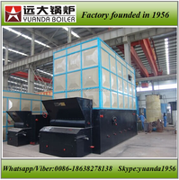 Coal biomass wood pellet fired thermax boiler for industrial factory