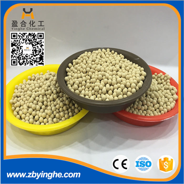 molecular sieve 4a for drying of natural gas, petrol gas and liquid with great price