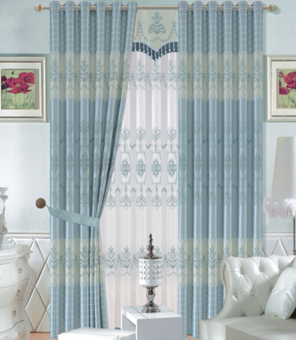 Jacquard blackout Hot Sale High Quality readymade polyester Curtain