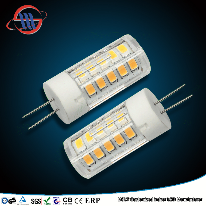 Factory Directly Sale Dimmable CE Rohs G4 LED Light Bulb 12V