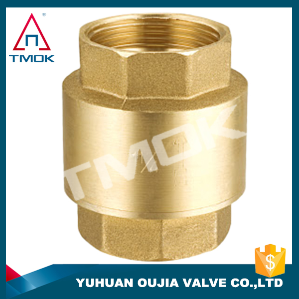 swing water check valve polishing water pump brass body DN 15 with ppr CE approved long handle with control valve nipple with