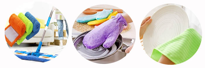 Microfiber PP Chenille Duster with Portable Wash Pad