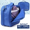 High quality waterproof womens fashion travel hanging toiletry bag