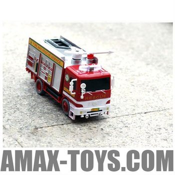 eo-119928a Bubble Fire Engine with Light and Music