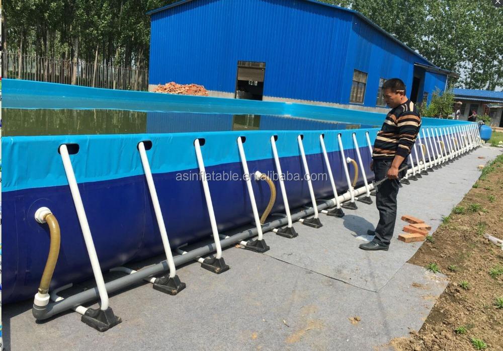 Outdoor Metal Frame Swimming Pool Inflatable Above Ground Pool Rental Buy Pool Frame