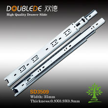 guangdong jieyang 3 fold full extension ball bearing desk drawer slide &telescopic channel
