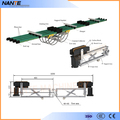 Aluminum NCT-500 Carbn Brush for Conductor Rail