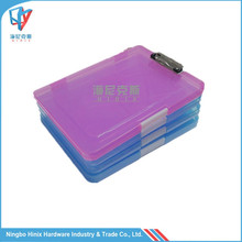 OEM Candy Color Hanging File Folder Plastic Box File with File Clip