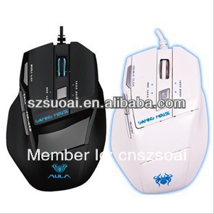 Gaming Mouse in Ergonomic Design with Led Light from Mouse Manufacture