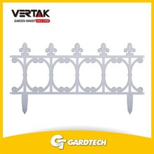 Creditable partner good quality garden outdoor plastic fence