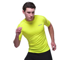 OUTTO #664 Men's Short Sleeve Wholesale Sports Compression Clothing M-2XL