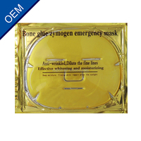 Moisturizing Anti-aging Firming Lifting Face Use and Crystal Material bio collagen pure golden facial mask