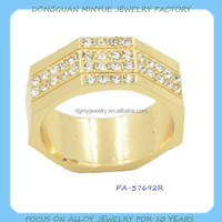 fashion crystal new design ladies finger ring