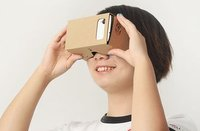 the fast supplier 3d google cardboard glasses,