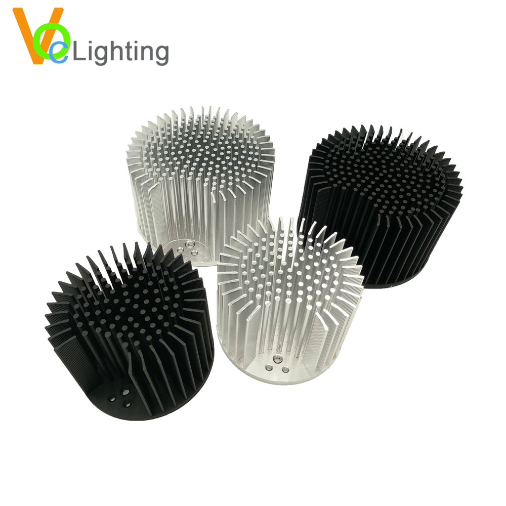 New Product LED <strong>Aluminum</strong> Cold Forging Pin Fin Heatsink for CXB3590/CLU048