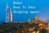 Dubai door to door shipping agent from China to dubai