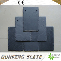 Factory Direct Sale Popular And Cheap Stone Tile Black Roof Slate Natural