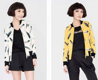 D15469A 2014 baseball uniform women short coat