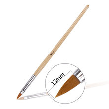 Amazon Best Seller Professional Nail Art UV Gel Painting Manicure Acrylic Brush Pen Kolinsky Brush