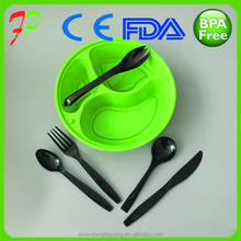 Food grade flatware sets/plastic spoon and fork/disposable cutlery sets
