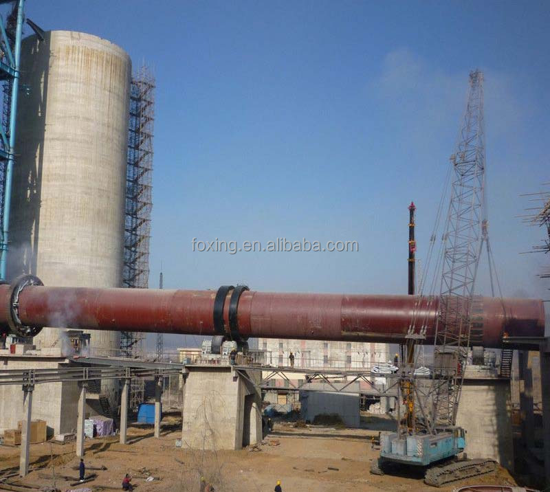 calcination rotary kiln for refractories for sale