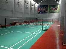 New developed oils-based School used Tennis court sports flooring