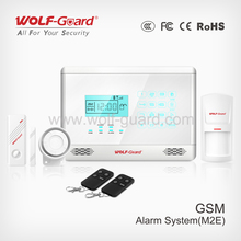 NEW! wireless laser gsm home care Italian alarm security system with proximity sensor and Touch keypad(YL007M2E)