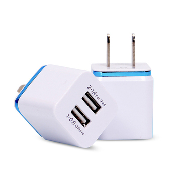 Wholesale 2.1 A Portable Dual Usb Charger Wall