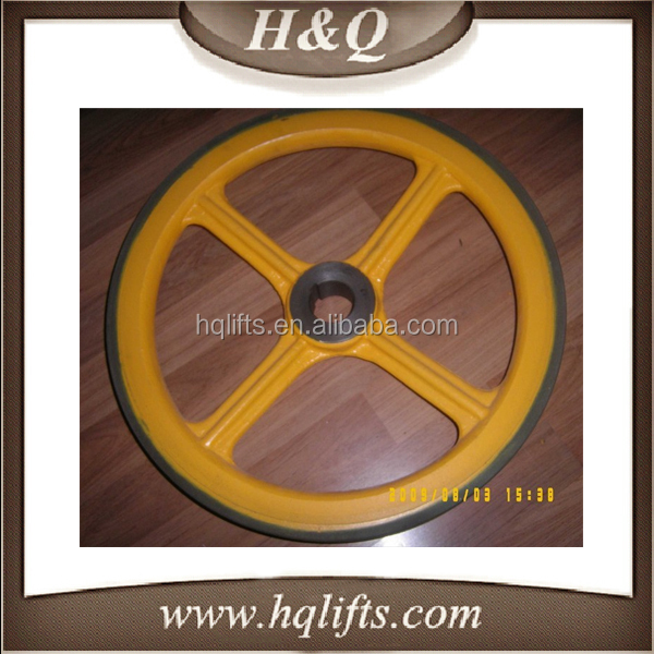 LG Escalator friction wheel 456*35 LG Escalator wheel