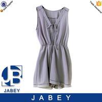 2016 summer chiffon gray short dress new style original women dresses casual dresses A line