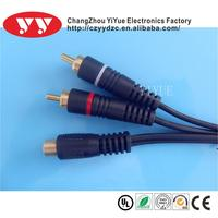 TPE rca cable/vga to mini din cable/vga cable