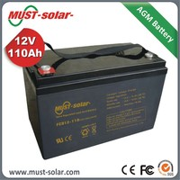 12v Deep Cycle Battery Rechargeable Battery for home solar systems