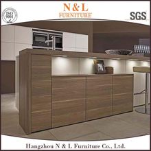 2016 New modern design simple kitchen model from kitchen factory island