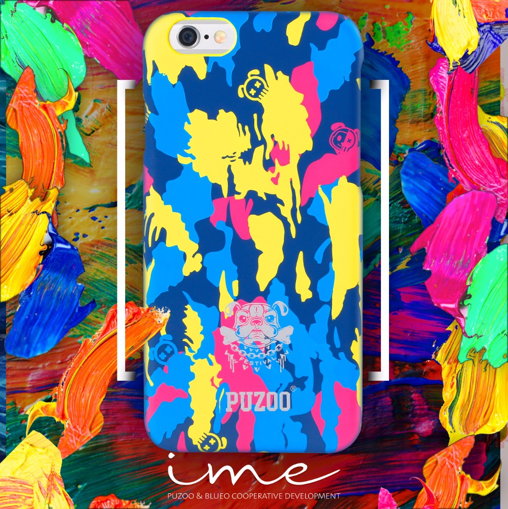 PUZOO Hot selling I.me new fashion PC mobil phone case for iphone 6 S plus