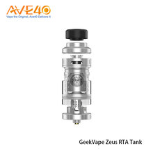 New Coming Products Electronic Cigarette Atomizer Express GeekVape Zeus RTA Tank For All RTA Lovers Starter To Veteran