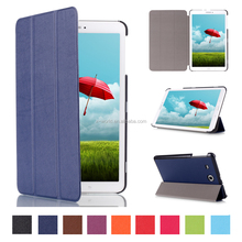 Magnetic 3-folding Flip Folio PU Leather Tablet case Protective stand Case cover for Samsung Galaxy Tab E 9.6''(T560)