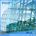 Environmental protection series frameless glass curtain wall construction technology